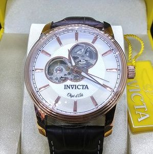 1 LEFT IN STOCK,new Invicta Automatic men's watch